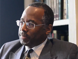 Ben Carson during interview with Daily Caller